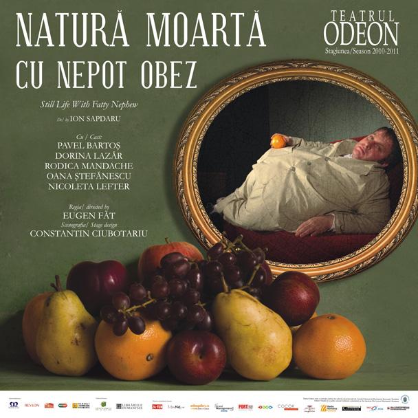 Afiș Natură moartă cu un nepot obez