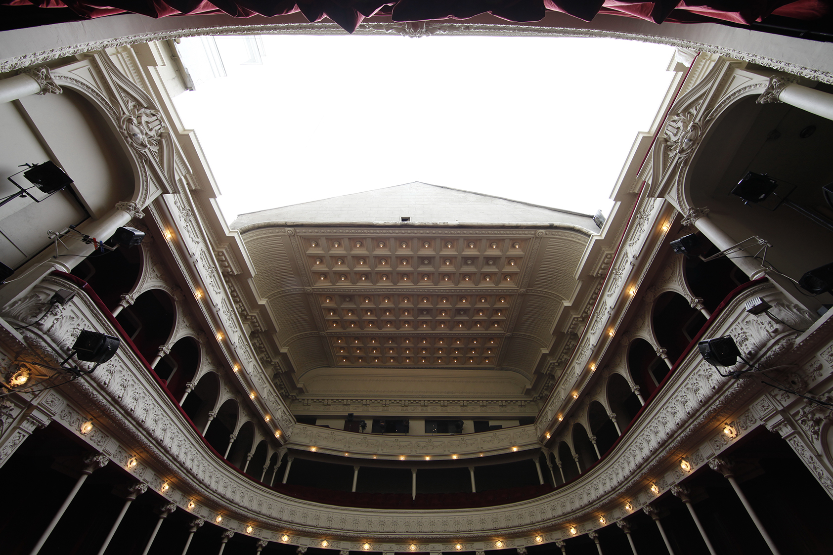 Teatrul Odeon - cupola