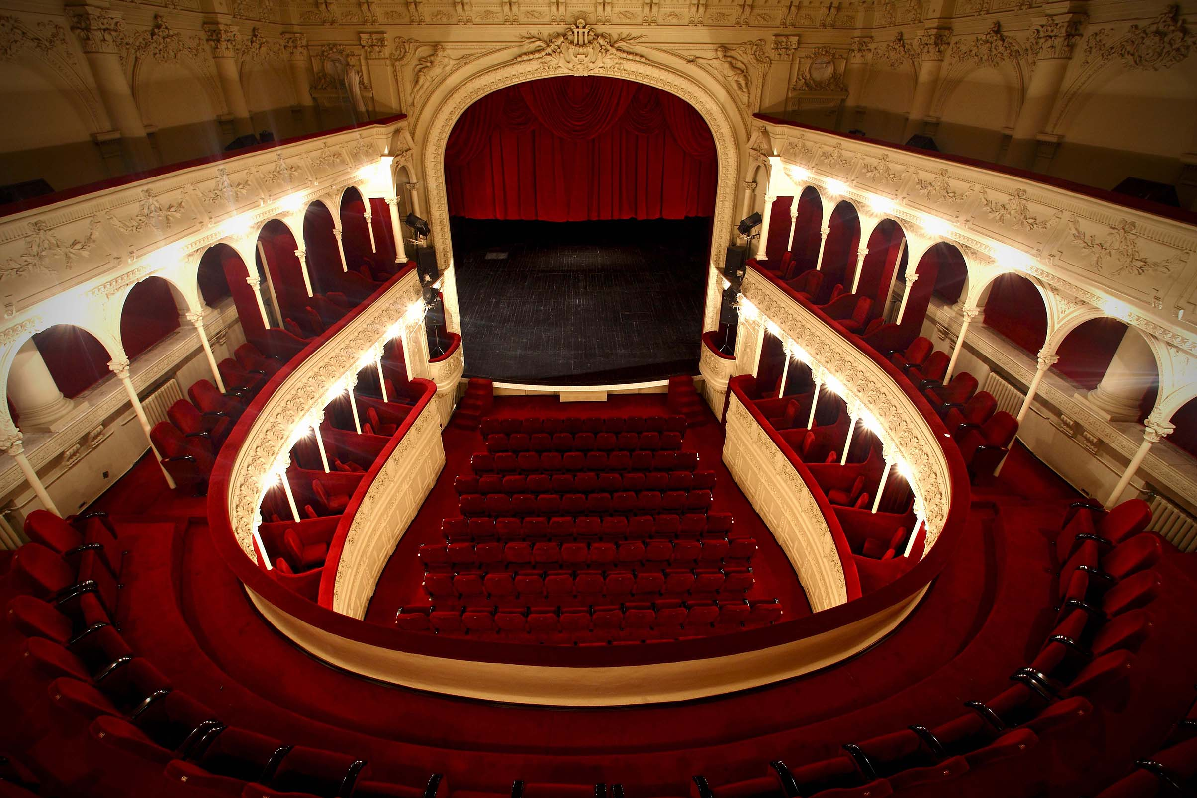 Teatrul Odeon - interior