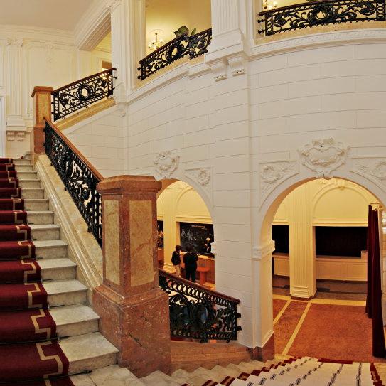 Teatrul Odeon - scările interioare