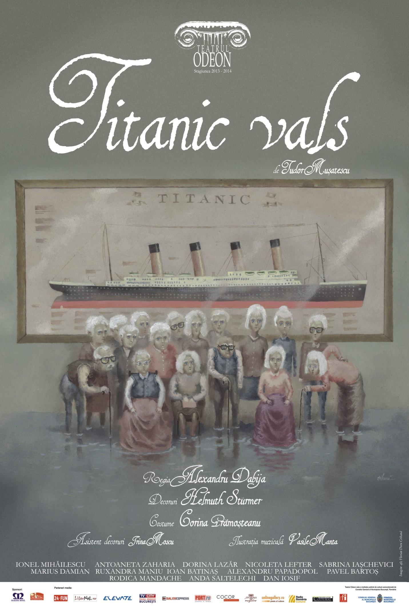 Afiș Titanic vals