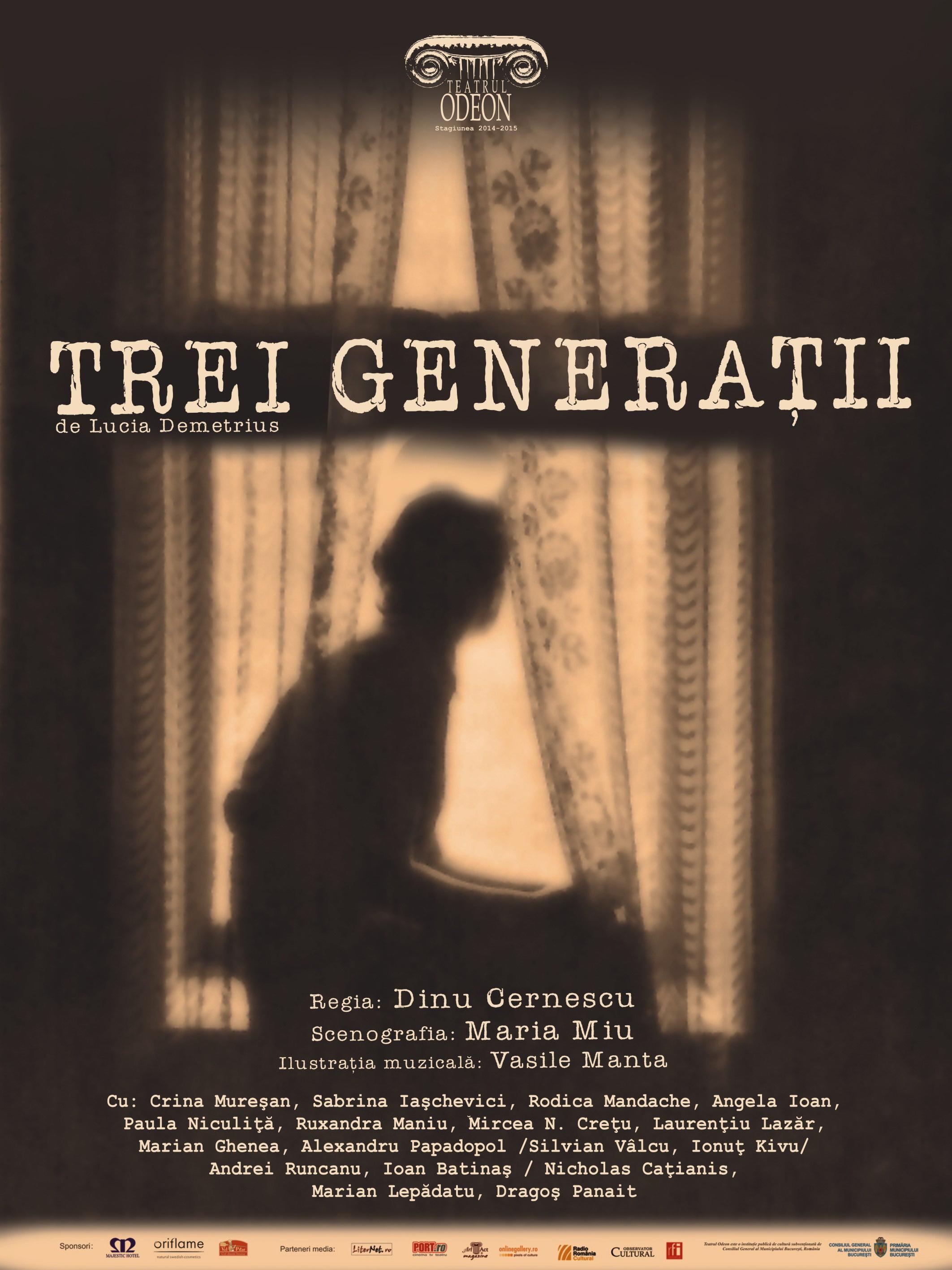 Afiș Trei generații