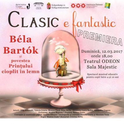 Bela Bartok și povestea prințului cioplit în lemn
