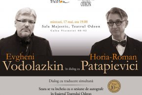 Horia-Roman Patapievici în dialog cu Evgheni Vodolazkin