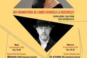 Doi dramaturgi hispanici la București
