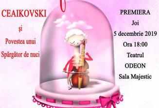 Premieră – Clasic e fantastic – Ceaikovski și Povestea unui spărgător de nuci