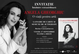 Întâlnire extraordinară cu Angela Gheorghiu. O viață pentru artă.